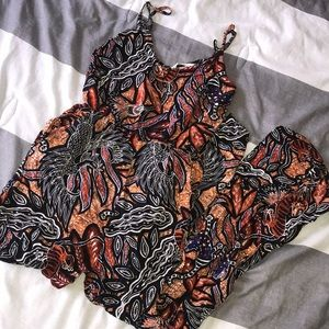 Print jumpsuit with pockets from H&M